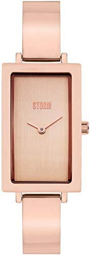 Storm London Aisha Rose Gold 47394/RG Reloj de Pulsera para Mujeres