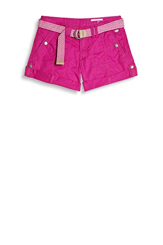 edc by Esprit 037cc1c006, Pantaloncini Donna, Rosa (Dark Pink 650), 34