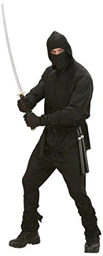 Widmann 02772 - Erwachsenenkostüm Ninja, Größe (Erwachsene Kostüme Samurai)