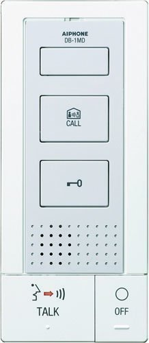 Aiphone Corporation DB-1MD Tenant Master Station for DB Series, ABS Plastic Construction, 7-5/16