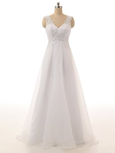 ebelz-womens-v-neck-appliques-sleeveless-laces-wedding-dress-bridal-ball-gown