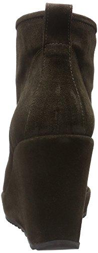 Zinda 2463, Bottes courtes avec doublure chaude femme Gris - Grau (Dorian)
