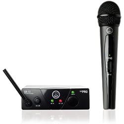 Micrófono inalámbrico - AKG WMS40 MINI VOC ISM1 - Con Banda UHF - Vocal