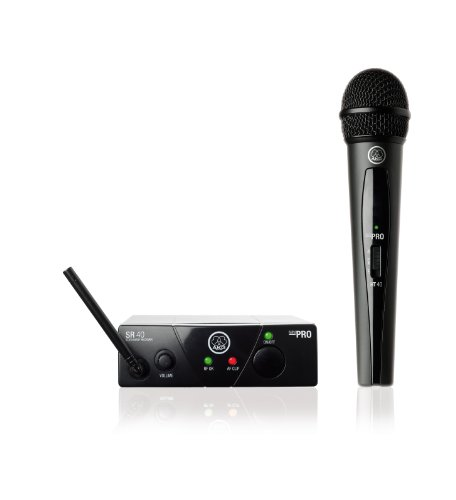 AKG WMS40 Mini Vocal Set BD US45C Wireless Microphone System