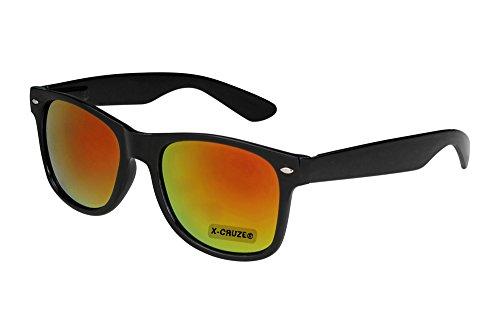 X-CRUZE 8-054 X 23 Nerd Sonnenbrille Style Stil Retro Vintage Retro Unisex Herren Damen Männer...