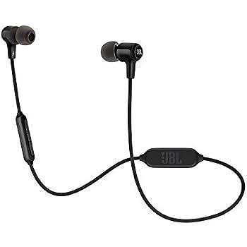 574cf96378d JBL E25BT in-ear Wireless Bluetooth Headphones, Universal Remote w/Built-In  Microphone 8 Hours Music Playback - Black