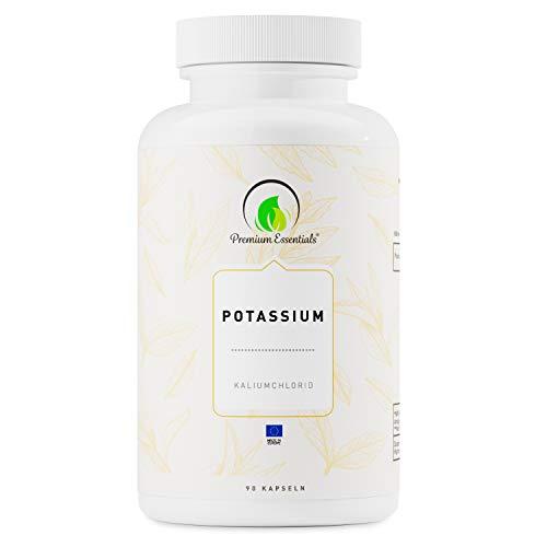 Potassium, 90 Kapseln Kalium Citrat (vegan), 2.250mg Tagesportion für 30 Tage, Monatspackung