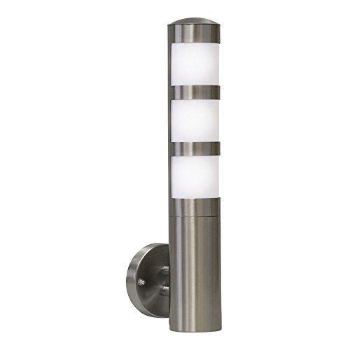 Edelstahl Aussenlampe Aussenleuchte Wandlampe Wandleuchte Fackel E27