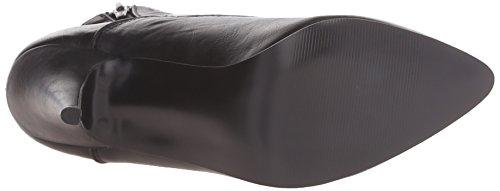 Pleaser VANITY-1020, Damen Kurzschaft Stiefel Schwarz (Schwarz (Blk Faux Leather))