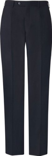 GREIFF pantalon pour hommes pantalon costume BASIC coupe confort - Style 1324 Bleu - Marine