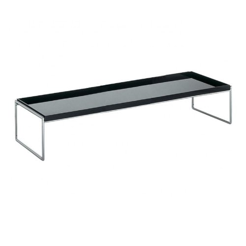Kartell 4414/09 trays side table, nero