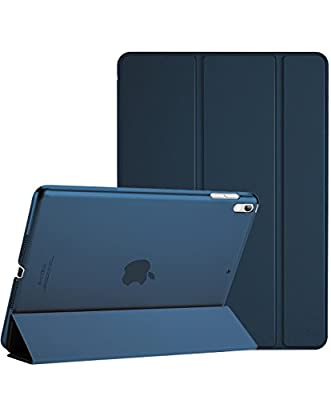 """ProCase Apple iPad Pro Case 10.5"""" 2017 - Ultra Slim Lightweight Stand Smart Case with Translucent Frosted Back Cover for 2017 New 10.5-inch iPad Pro, With Auto Sleep/Wake Feature"""