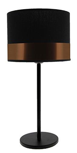 Lampe Max, Noir/Cuivre
