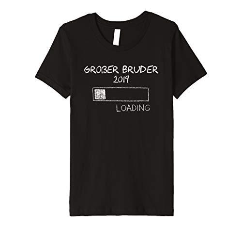 Kinder Großer Bruder 2019 TShirt Geschwister Shirt Geschenk Idee