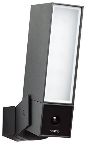 Smarte Überwachungskamera für Den Außenbereich mit integrierter beleuchtung – Netatmo Presence
