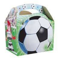 Football Party Lunch or Goodie Box -10 supplied