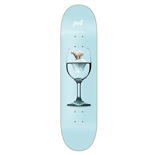 "Jart Warning 8.125\"" LC Skateboard Deck"