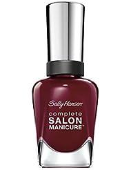 Sally Hansen Complete Salon Manicure Nagellack, 632 Society Ruler, kräftiges Rot, 15 g
