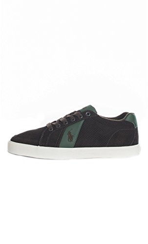POLO RALPH LAUREN SNEAKERS UOMO [RUDHP A2003 HUGH] - 41, MARRONE