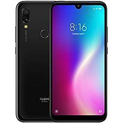 Redmi 7 ROM 3 Go de RAM 32 Go Version Universelle Double Carte SIM 632 Octa Core 4000mAh Redmi Seven Smartphone (Black)