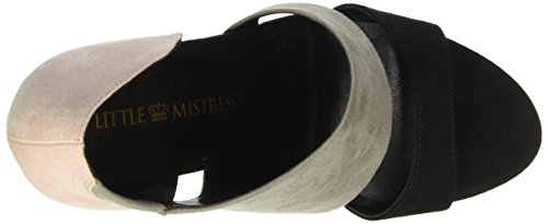 Little Mistress Rhea, Scarpe Col Tacco Donna Multicolore (Mehrfarbig (Pink, Grey, Black))