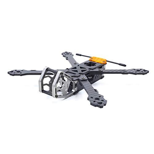 Ballylelly-RC-Drohnen-Zubehör GEPRC GEP-KHX5 Elegantes 230-mm-RC-Quadcopter-Rahmenkit mit Armlehnenstruktur Kohlefaser-Racing-Drohne FPV Multicopter-Flugzeugteile -