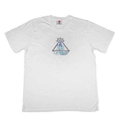 storeindya Comfort Fit Rundhalsausschnitt 100% Baumwolle Weiß Kurzarm T-Shirts für Yoga & Fitness Weihnachten…