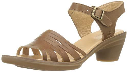 El Naturalista N5352 VAQUETILLA Aqua, Zapatos de tacón con Punta Cerrada para Mujer, Marrón Caramel...