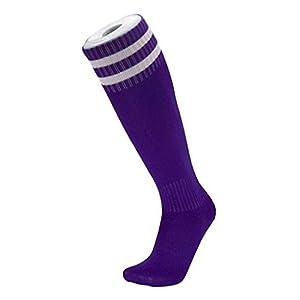 YiyiLai 1 Paar Sportsocke Hohe Socke Fussball Socken Strumpf Laufsocken Trekkingsocken