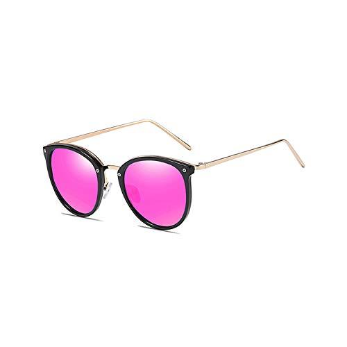 Sport-Sonnenbrillen, Vintage Sonnenbrillen, Trendy Vintage Goggles Brand Designer Cat Eye Sunglasses For WoMänner Männer UV400 Polarized Outdoor Driving Sun Glasses With Zip Case Purple Mirror Lens