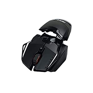 MadCatz R.A.T. 1+ Optical Gaming Mouse, Black