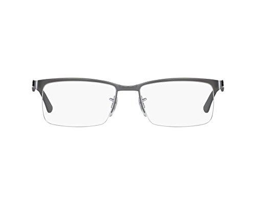 Ray Ban Optical Für Mann Rx8411 Matte Gunmetal / Gunmetal Metallgestell Brillen, 54mm