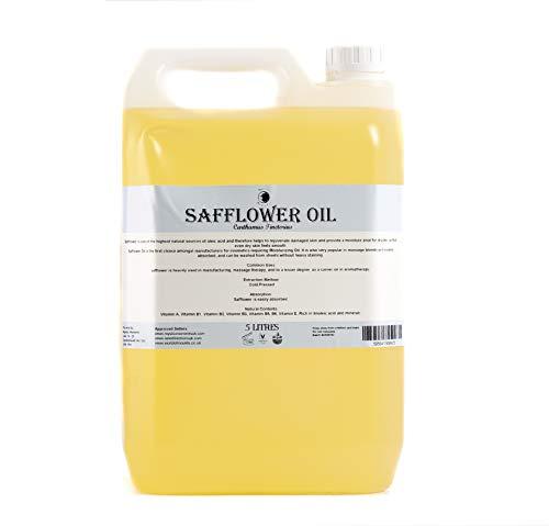 Aceite Portador de Cártamo - 5 Litros - 100% Puro