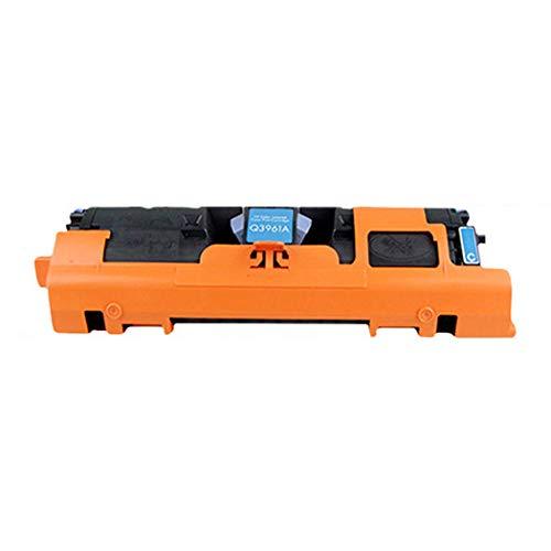 JEFF-CHY Kompatibel mit HP Q3960A Tonerkartusche HP122A für HP 2550L 2550LN 2550N 2820 2840 Farbdruckerpatrone,Blue - 2550 Toner