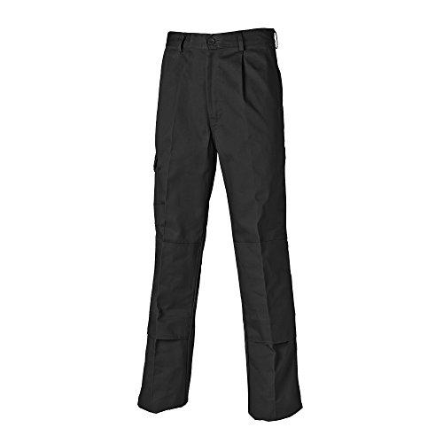 Dickies-comfort-taille (Dickies Herren Arbeitshose Super (Kurz) (48) (Schwarz))