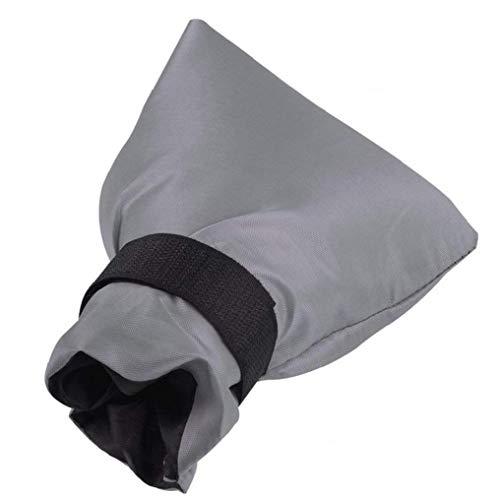 1 Stück Im Freien Wasserhahn Abdeckung Socken-Hahn-Frostschutz-Socken Insulated-Hahn-Socken-Wasserdicht Wasserhahn-Abdeckungen Für Winter (Gray, 5.9