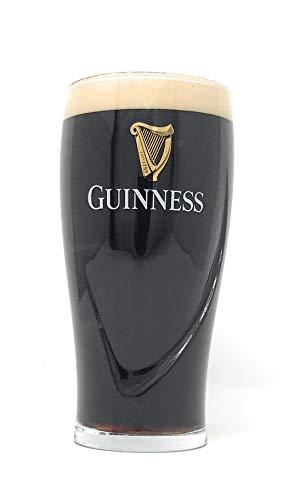 Offizielles Guinness-Glas mit geprägtem Logo, Größe 440 ml