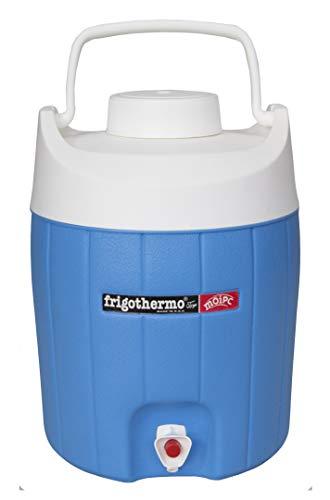 frigothermo Kühlboxen Kühlbox mit Zapfhahn und Tragegriff Getränkespender Getränkebehälter 5/8/12/18/27/33 Liter (12 Liter - rund)