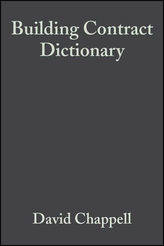 Building Contract Dictionary 3e