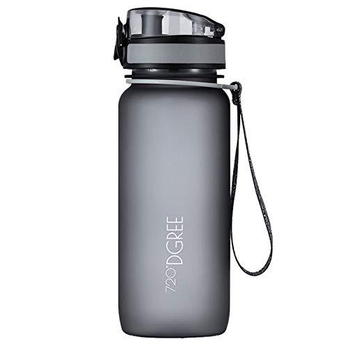 """Trinkflasche """"uberBottle"""" - Wasserflasche aus Tritan 650 ml, 0,65 l   Neuartige Flasche   Water Bottle - BPA Frei   Ideale Sportflasche für Kinder, Fitness, Fitnessstudio, Fahrrad, Sport, Fussball"""