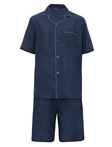 Hombre verano Set Pijama Top Manga Corta & Pantalones