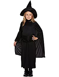 Amazon.it  costume da strega bambina  Abbigliamento a2aaea38703