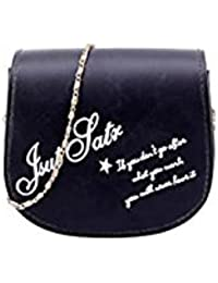 Tradico® Women Shoulder Bags Tote Purse Satchel Messenger Bag(Black)