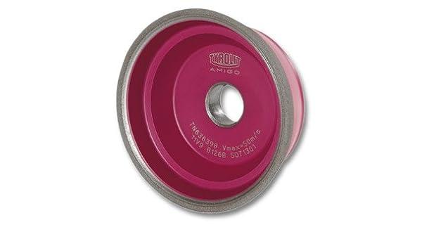 CBN-Topf-Schleifscheibe D/×T/×H 100/×35/×20 B126 mm