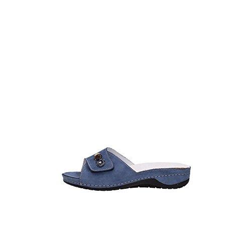 Grunland 68CALA CE0169 Slipper Femme Bleu