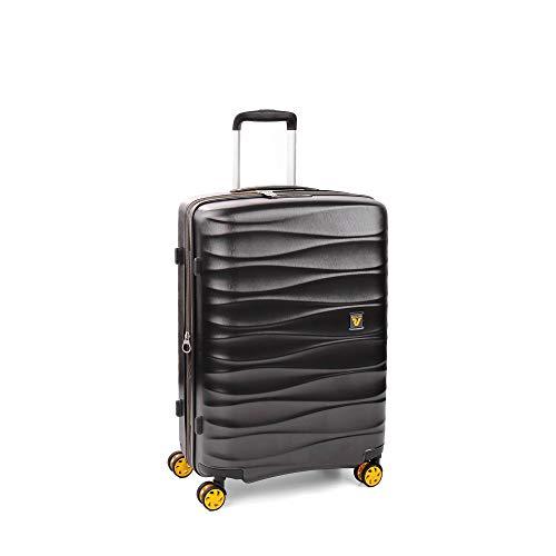 Roncato trolley medio 4w exp. stellar valigia, 64 cm, 81 liters, grigio (gris)