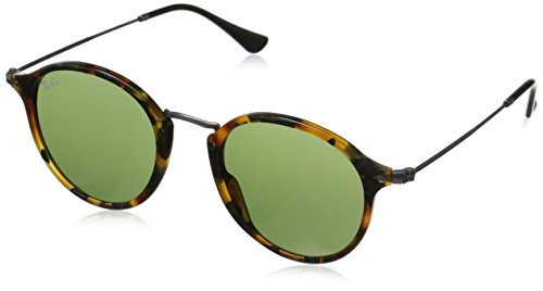 Ray-Ban RB 2447 Montature, Verde (Spotted Havana/Green), 49 Uomo