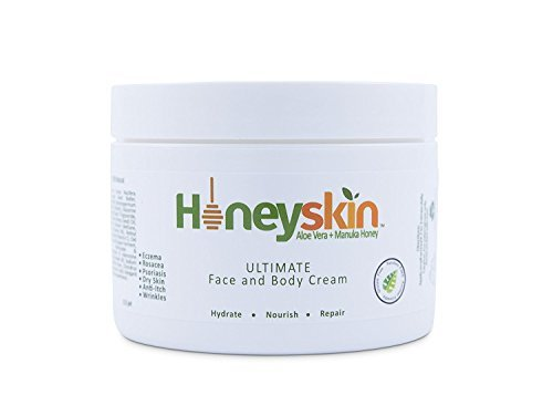 Eczema Repair Cream for Face & Body (8 oz) Anti-Itch, Soothing, Organic Moisturizer, Rosacea,...