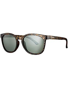Zippo Green Revo Multi Lens Gafas de Sol, Unisex, Demi Brown, Medium