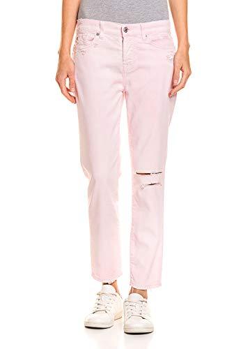 7 For All Mankind Damen Jeans weichem Baumwoll-Mix Lyocell-Anteil